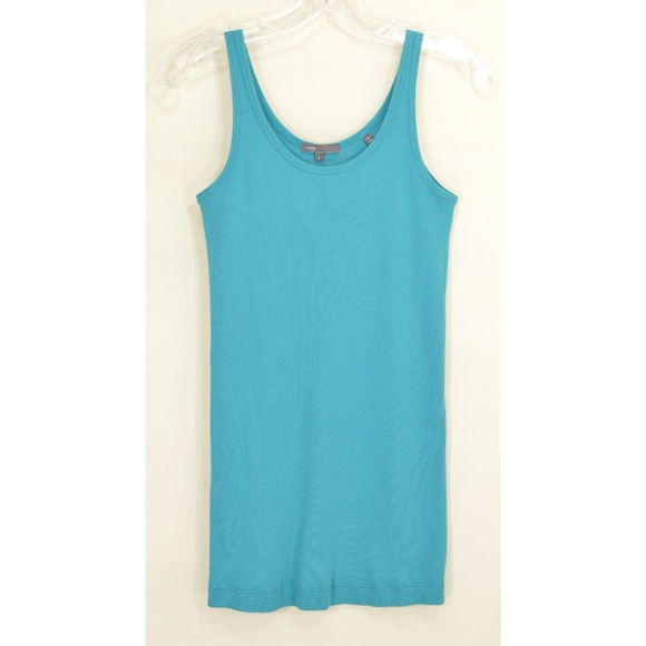 Vince Tops - Vince tank top prima cotton modal blend ribbed bac